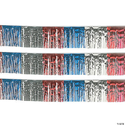 Patriotic Fringe Decoration