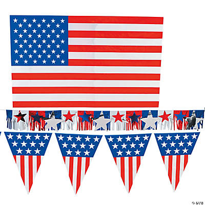 Patriotic Outdoor Decorating Kit