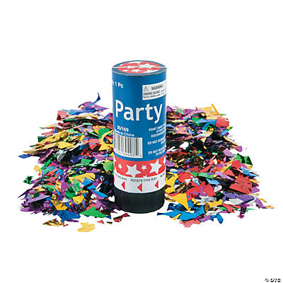 Patriotic Party Poppers