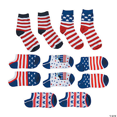 Patriotic Sock Assortment