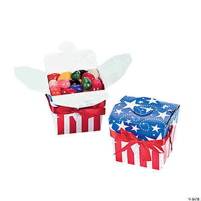 Patriotic Take Out Boxes