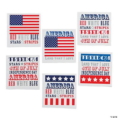 Patriotic Word Tattoos