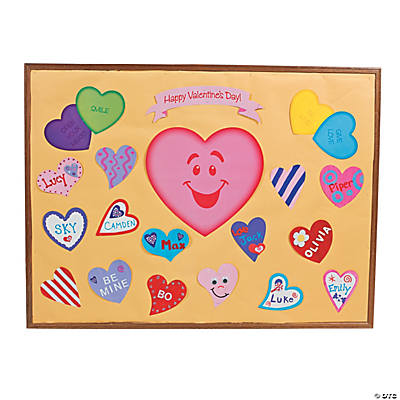 26 Pc. Design Your Own Valentine Bulletin Board Set