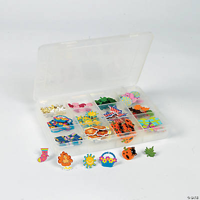96 Pc. Month & Season Embellishment Box