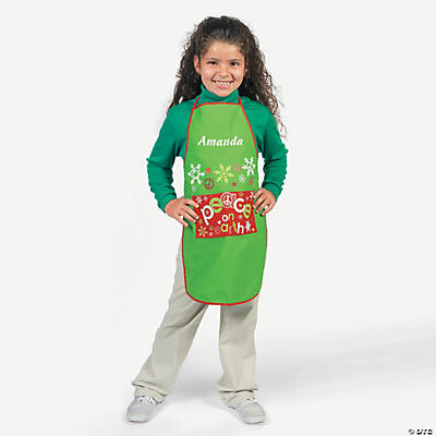 """Peace on Earth"" Child's Apron"