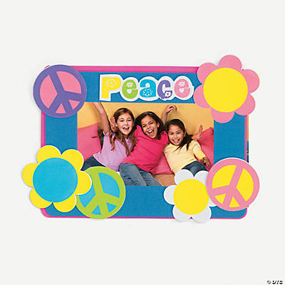 """Peace"" Photo Magnet Self-Adhesive Craft Kit"