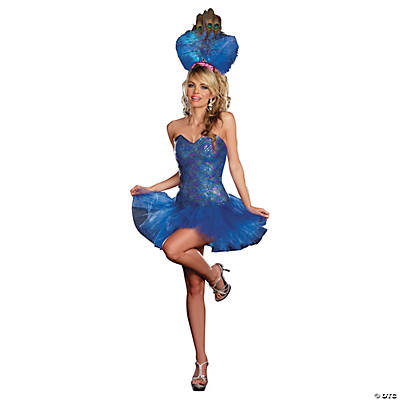Peacock Envy Costume for Women