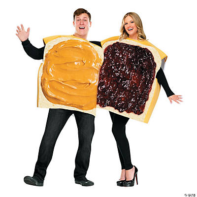 Peanut Butter & Jelly Adult Costume