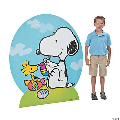 Peanuts® Easter Cardboard Stand-Up