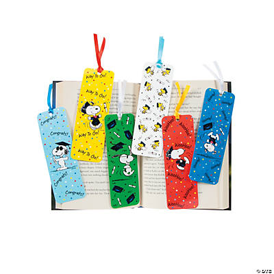 Peanuts® Graduation Bookmarks