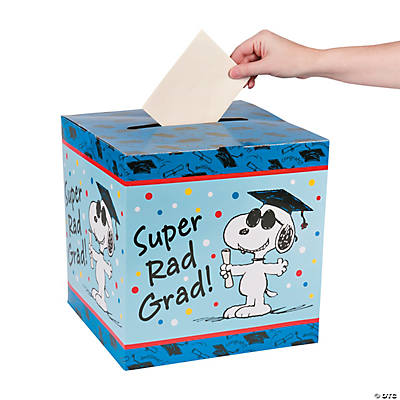 Peanuts® Graduation Card Box