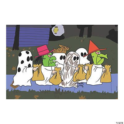 Halloween Backdrops Scene Setters
