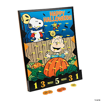 Peanuts® Halloween Disc Drop Game