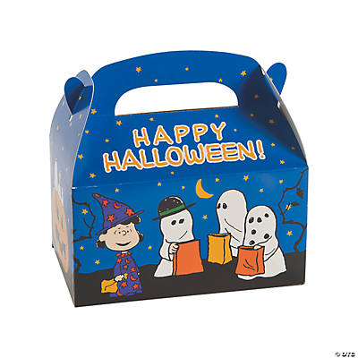 Peanuts® Halloween Favor Boxes