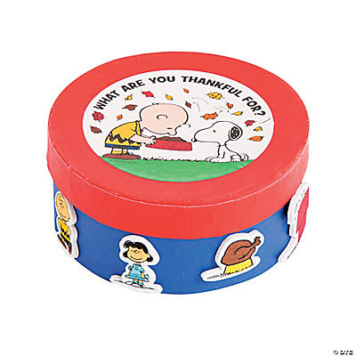Peanuts memory box craft kit~13703219