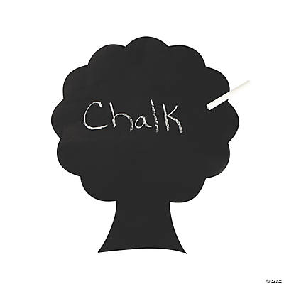 6 Peel & Stick Tree Chalkboards