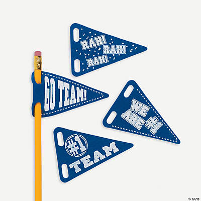 Pencil Pennants - Blue