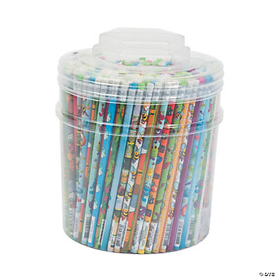 Pencil Tub - Everyday Characters Assortment