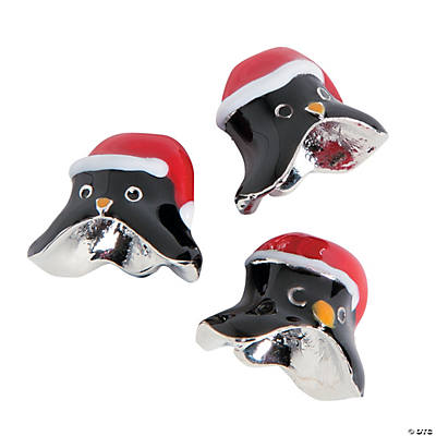 Penguin Bead Toppers