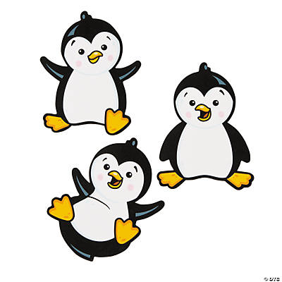 Penguin Bulletin Board  Cutouts