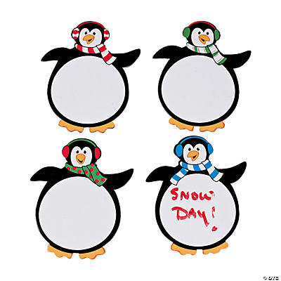 Penguin Dry Erase Magnets
