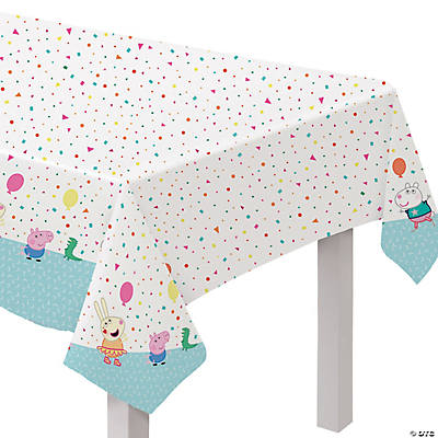 Peppa Pig™ Plastic Tablecloth