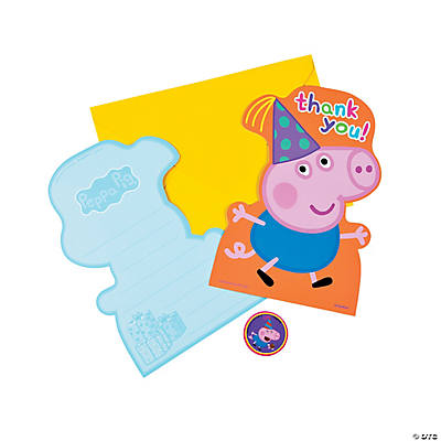 quickview image of peppa pig thank you cards with sku13756028