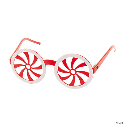Peppermint Swirl Shutter Shading Glasses