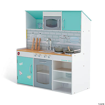 Peppermint Townhouse 2 in 1 Kitchen & Dollhouse