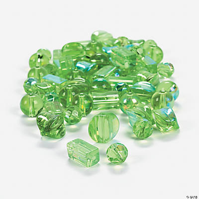 Peridot AB Bead Assortment - 8mm-12mm