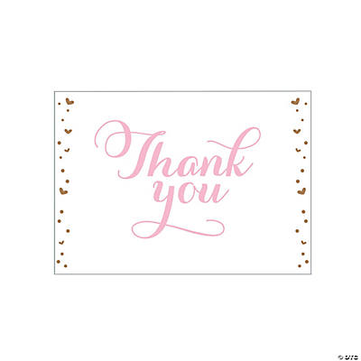 Personalized Cheers Thank You Cards