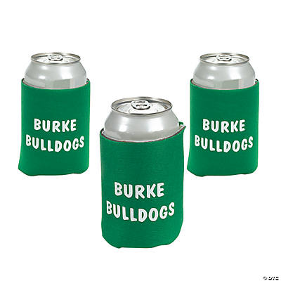 Personalized Green Can Covers