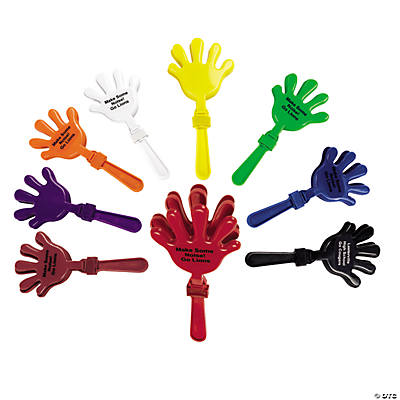 Personalized Hand Clappers