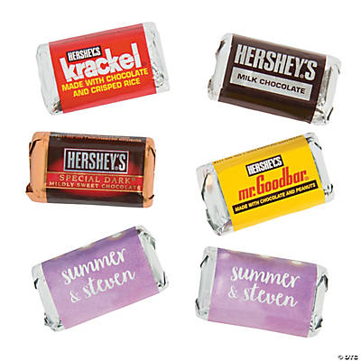 Personalized Hanging Lights Mini Candy Bar Sticker Labels