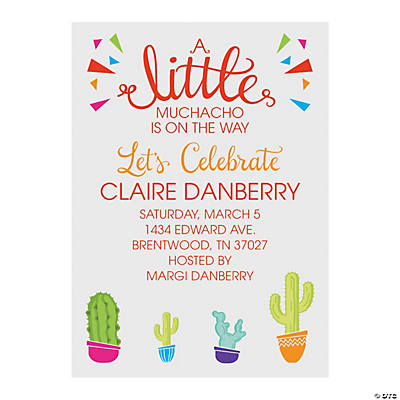 Personalized Hot Little Momma Baby Shower Invitations