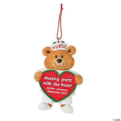 "Personalized ""Nurse"" Ornament"