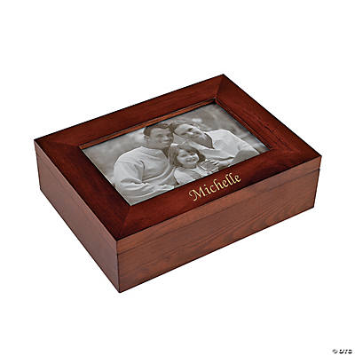Personalized Picture Frame Jewelry Box