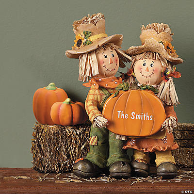 Personalized Scarecrow Couple