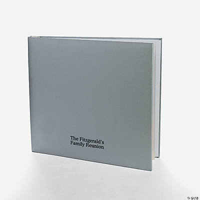 Personalized Silver Album