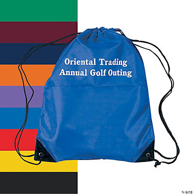 Personalized Small Drawstring Backpacks