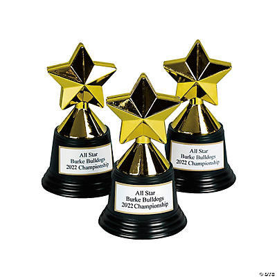Personalized Star Trophies