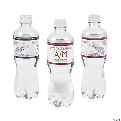 Personalized Sweet Fall Water Bottle Labels