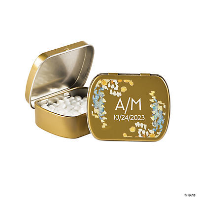 Personalized Sweet Fall Wedding Mint Tins