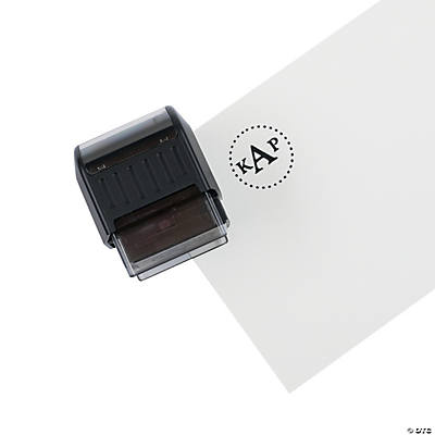 Personalized Three Letter Monogram Stamper