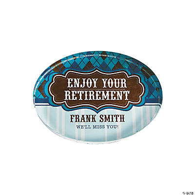 Personalized Touch of Tradition Oval Paperweight