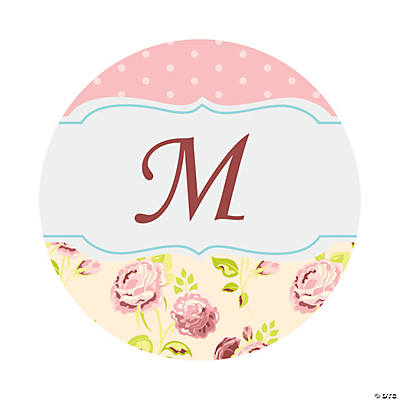Personalized Vintage Collection Wedding Favor Stickers - 1 1/2""