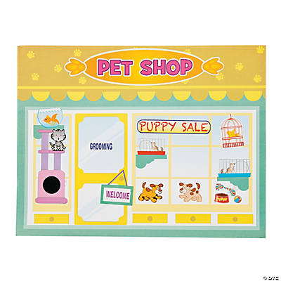 Pet Shop Sticker Scenes