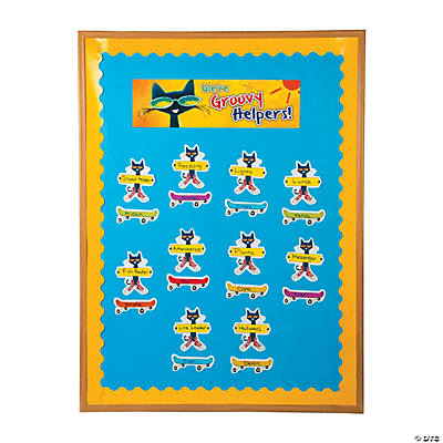 Quickview · Image Of Pete The Cat™ Classroom Jobs Bulletin Board Set With  Sku:13748747
