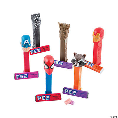 Pez® Marvel™ Hard Candy Dispensers Assortment