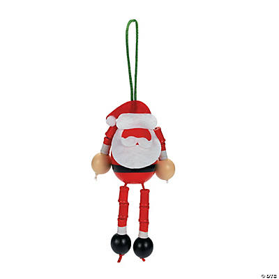 Photo Santa Christmas Ornament Craft Kit
